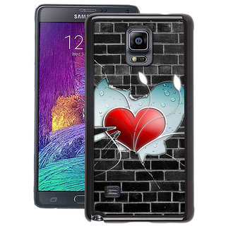 Instyler Digital Printed Back Cover For Samsung Galaxy Note 4 SGN4DS-10408