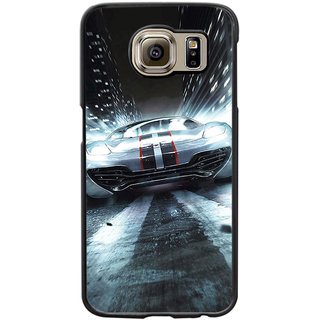 Instyler Digital Printed Back Cover For Samsung Galaxy S6 Edge SGS6EDS-10338