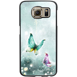 Instyler Digital Printed Back Cover For Samsung Galaxy S6 Edge SGS6EDS-10340