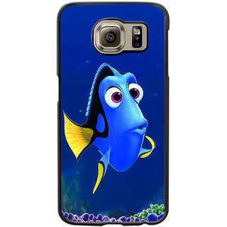 Instyler Digital Printed Back Cover For Samsung Galaxy S6 Edge SGS6EDS-10349