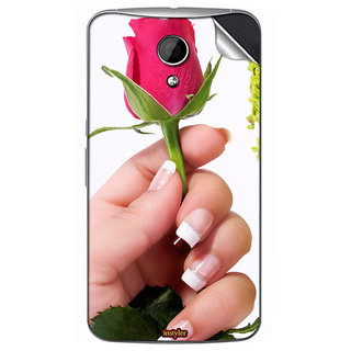 Instyler Mobile Skin Sticker For Moto G2 MSMOTOG2DS10082