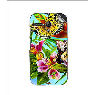 Instyler Mobile Skin Sticker For Moto G MSMOTOGDS10047