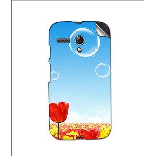 Instyler Mobile Skin Sticker For Moto G MSMOTOGDS10079