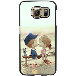 Instyler Digital Printed Back Cover For Samsung Galaxy S6 Edge SGS6EDS-10374