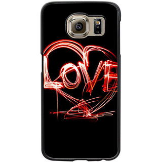 Instyler Digital Printed Back Cover For Samsung Galaxy S6 SGS6DS-10421