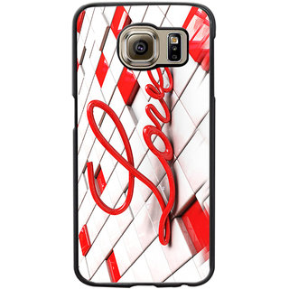 Instyler Digital Printed Back Cover For Samsung Galaxy S6 SGS6DS-10431