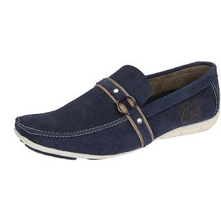 Italiano Men's Blue Stylish Loafers - Option 6