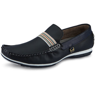 a61c9eff5201e Online Italiano Men Black Stylish Loafer Shoes - Option 4 Prices ...
