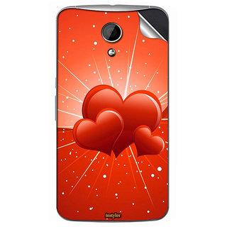 Instyler Mobile Skin Sticker For Moto G2 MSMOTOG2DS10117