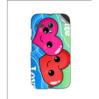 Instyler Mobile Skin Sticker For Moto G MSMOTOGDS10125
