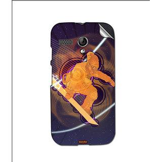 Instyler Mobile Skin Sticker For Moto G MSMOTOGDS10143