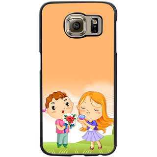 Instyler Digital Printed Back Cover For Samsung Galaxy S6 SGS6DS-10355
