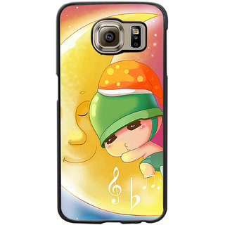 Instyler Digital Printed Back Cover For Samsung Galaxy S6 SGS6DS-10359