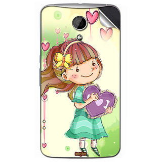 Instyler Mobile Skin Sticker For Moto G2 MSMOTOG2DS10061