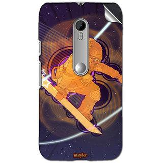 Instyler Mobile Skin Sticker For Moto G (3Rd Gen) MSMOTOG(3RD GEN)DS10143