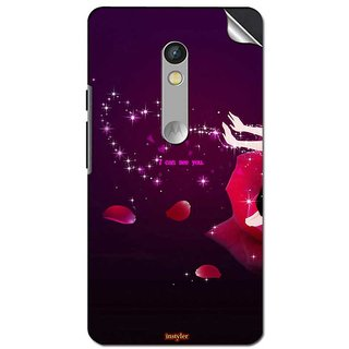 Instyler Mobile Skin Sticker For Moto X Play MSMOTOXPLAYDS10114