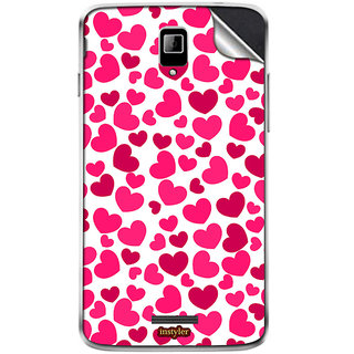 Instyler Mobile Skin Sticker For Coolpad 7259 MSCOOLPAD7259DS10116