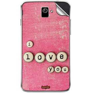 Instyler Mobile Skin Sticker For Coolpad 8198T MSCOOLPAD8198TDS10126