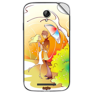 Instyler Mobile Skin Sticker For Coolpad 8702 MSCOOLPAD8702DS10060