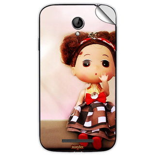 Instyler Mobile Skin Sticker For Coolpad 8702 MSCOOLPAD8702DS10062