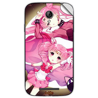 Instyler Mobile Skin Sticker For Coolpad 8702 MSCOOLPAD8702DS10072