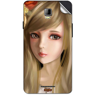 Instyler Mobile Skin Sticker For Coolpad 8705 MSCOOLPAD8705DS10068