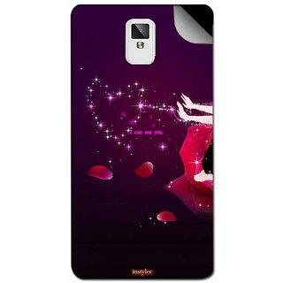 Instyler Mobile Skin Sticker For Coolpad 9190 MSCOOLPAD9190DS10114