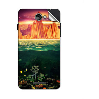 Instyler Mobile Skin Sticker For Coolpad T1 MSCOOLPADT1DS10152