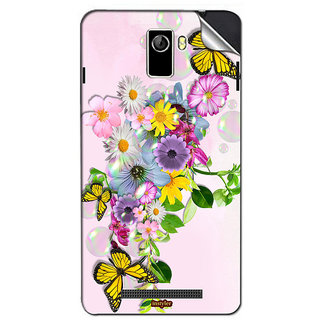 Instyler Mobile Skin Sticker For Coolpad Y60C-1 MSCOOLPADY60C-1DS10046
