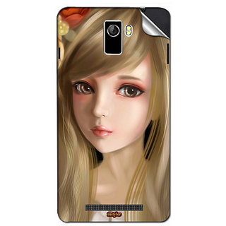 Instyler Mobile Skin Sticker For Coolpad Y60C-1 MSCOOLPADY60C-1DS10068