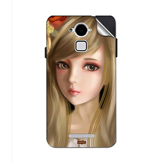 Instyler Mobile Skin Sticker For Coolpad Note 3 Lite MSCOOLPADNOTE3LITEDS10068