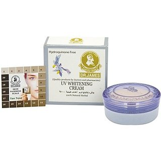 Dr. James Whitening Cream with UV Protection (4g)