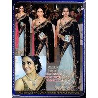 Sridevi Torronto Film Festival  Bollywood  blaPallu designer saree
