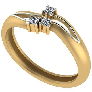 Diamond Ladies Ring in 18ct. Gold.