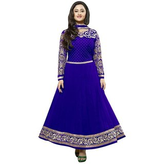 Awesome fab semi-stiched salwar-suit dress materials