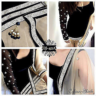 BLACK Velevet Straight Cut Bollywood Catalog Semi Stitched Salwar Suit Dress