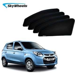 84f396f0b3c6 Buy SkyWheels UV Car Sun Shades for Maruti Suzuki Alto 800 Online   ₹1125  from ShopClues