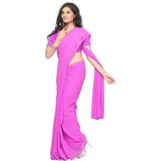 a23ba94fe0 Sonika Light Pink Chiffon Saree
