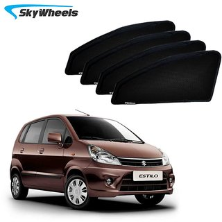 Buy Skywheels Uv Car Sun Shades For Maruti Suzuki Zen Estilo Online