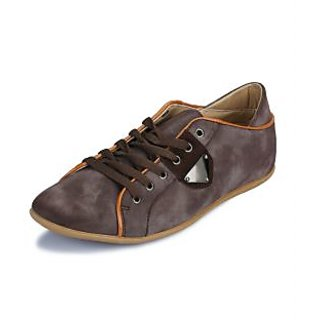 Enzo Men's Brown Sneakers Style Stylish Shoes