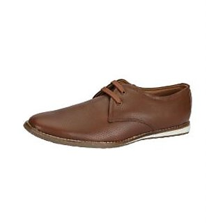 Lues Club Men's Brown Casual Stylish Shoes