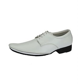 Lues Club Men's White Casual Shoes