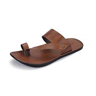 Lee Fox Men's Tan Stylish Sandals at