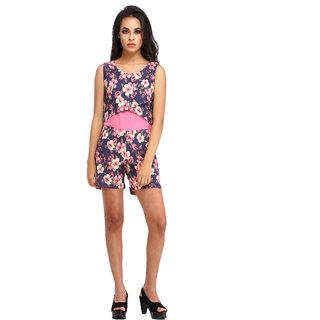 Scorpius floral print jumpsuit