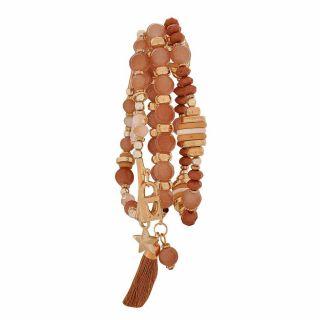 Maayra Special Multicolour Trending Reunion Adjustable Bracelet