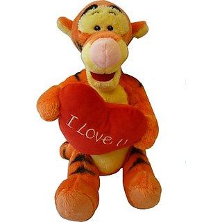 Disney Holding Heart - I Love You - Tigger - 10 Inch