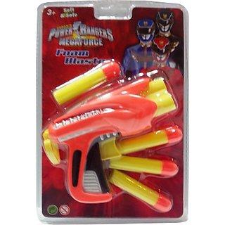 Impulse Power Rangers Megaforce Foam Blaster (Orange, Yellow)
