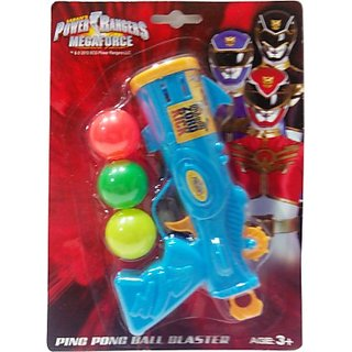 Impulse Power Rangers Megaforce Ping Pong Ball Blaster (Multicolor)
