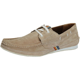 Sharon Men's Beige Casual Shoes