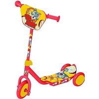 Warner Bros Tom And Jerry 3 Wheel Scooter (Yellow)